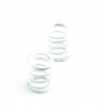 Shock spring front white -...