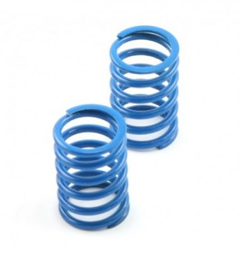 Shock spring rear blue - V8...