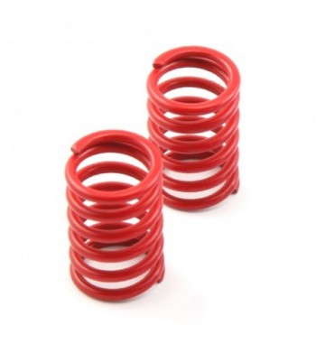 Shock spring rear red - V8...