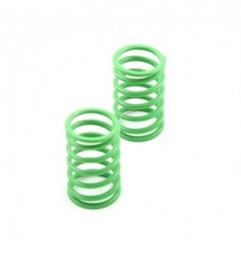 Shock spring rear green -...