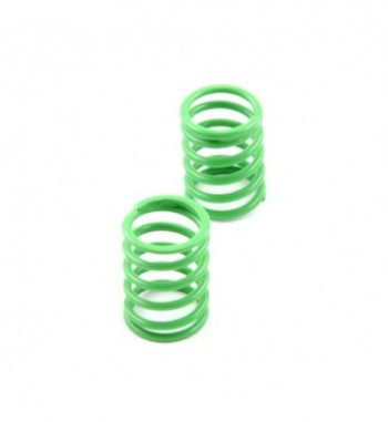 Shock spring front green -...