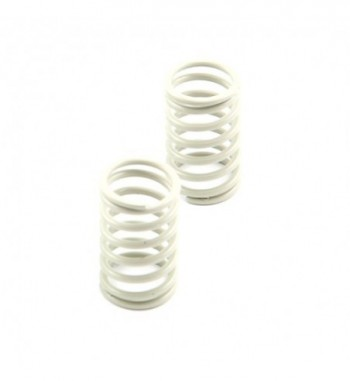 Shock spring rear grey -...
