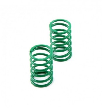 Shock spring rear darkgreen...