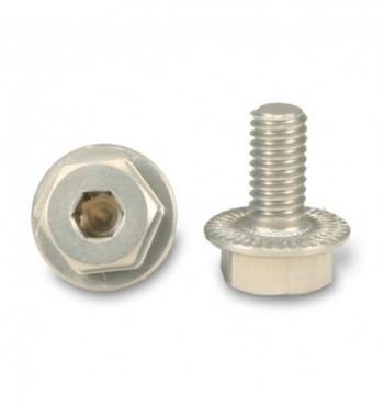 Wheel bolt aluminium (2)
